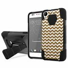 HTC Desire 530/550/555 Armor Case KickStand  [Screen Protector] Design [M]