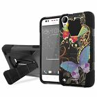 HTC Desire 530/550/555 Armor Case KickStand  [Screen Protector] Design [D]