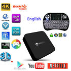 Android TV Box RK3229 Quad Core Fully Loaded 4K Smart Box1G/8G i8 Keyboard