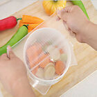 Wrap Seal Vacuum Food Magic Wrap Plastic Fresh Kitchen Tool Reusable Silicone