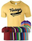Vintage 1977 Aged To Perfection Mens T-Shirt Birthday Present T Shirt Gift Tee