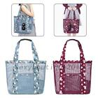 Fashion Women Travel Shopping Mesh Beach Storage Shoulder Bag Handbag New