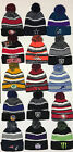 Beanie POM POM Logo Sport Football Skull SKI Cap KNIT Hat Winter Wear Team All