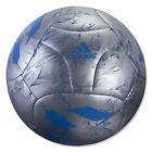 adidas Messi Soccer Ball Silver Metallic/Blue/Vista Grey AP0405