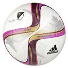 adidas MLS 2015 Glider Soccer Ball White/Flash Pink M36938