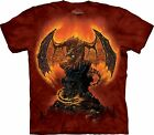 Mountain Unisex Erwachsen Harbinger Of Fire Drache T Shirt