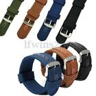 CINTURINO PER OROLOGI MILITARE IN NYLON TELA WATCH BAND STRAP 18/20/22/24mm HOT