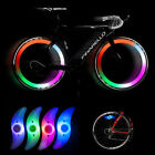 Colorful Bikes Bicycle Cycling Spoke Wire Tire Tyre Wheel LED Bright Light LampW
