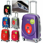 """20"""" Hard Shell Abs Carry On Hand Spinner Luggage Trolley Cabin Approved Suitcase"""