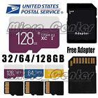 Ultra Micro SD Memory Card Class 10 32/64/128 GB Camera/Phone/Tablets w/ADAPTER