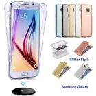 Shockproof 360 Slim Clear Gel Case Cover For Samsung Galaxy Phone S9 S8+ S7 Edge