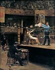 Classic American Boxing Art Print: Between Rounds by Thomas Eakins