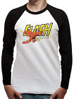 Official The Flash (Vintage) Baseball Shirt - All sizes