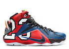 Nike Lebron 12 XII SE What The 802193-909 Size 11 Multicolor James King