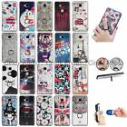 For Huawei Honor 5X GR5 Mate 7 Mini 3D Relief Soft TPU Finger Ring Case Cover