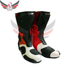 Cow Leather Honda Repsol Motorbike Shoes Racing Men Boots (All Sizes, see chart)