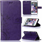 Magnetic Flip Leather Stand Card Diamond Wallet Case Cover For iPhone 6s 7 Plus