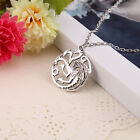 Song Of Ice And Fire Game of Thrones Retro Targaryen Dragon Pendant Necklace