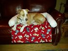 red dog bed dog pad for furniture dog products made in usa