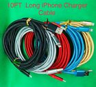 10FT Aluminum Braided USB Charger Sync Cable For iPhone X,7Plus,6,5 & USB Typ-C