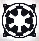 Star Wars Imperial style Fan Grill Cover 80mm 92mm 120mm 140mm 180mm 200mm Mod $16.69 CAD