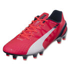 Puma Men's EvoSpeed 1.3 FG Bright Plasma/White/Peacoat 103008 04