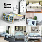 Bedroom Metal Bed Frame Platform Base Mattress Foundation Twin Full Queen Size