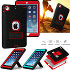 Shockproof Military Heavy Duty Rugged Hard Case Stand Cover for Apple iPad Mini