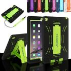 Kids Shockproof Heavy Duty Silicone Tablet Protective Case Cover For Apple Ipad
