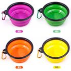 Deal Cat Dog Food Feeding Bowl Portable Silicone Bowls Pet Travel Water Dish