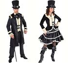 Gents Victorian Steampunk - Black  , XS - XXL