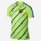 NIKE FC BARCELONA DRY TRAINING TOP 2017 Ghost Green Game Royal