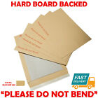HARD CARD BOARD BACK BACKED 'PLEASE DO NOT BEND' ENVELOPES MANILLA BROWN <br/> ✔CHEAPEST PRICES CHECK BEFORE BUYING!✔VAT INCLUDED✔