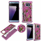 Diamond Bling Jewel Luxury Case for Samsung Note7 Shockproof Soft TPU+PC Cover
