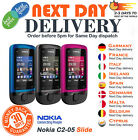 Brand New  Nokia C2-05 Black/ Red / Blue Unlocked Slide  Phone