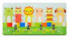 "Sublimation Rectangle MDF 4 Piece Wall Hanger 15x7.5"" for Heat Press Transfer"