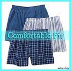 New Lot 3 Men Boxers Plaid Shorts Underwear Cotton Pairs Briefs best selling HOT