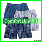 Lot Of 3 Men Boxer Trunk Plaid Shorts Underwear Lot Cotton Briefs best selling