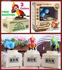 Hungry Parrot, Interactive Robot Bird Bank, Money-boxes, Coin Collection Storage
