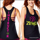ZUMBA INSTRUCTOR Hyped Loose Racerback Top Convention SOLD-OUT!!! XS S M L