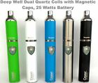 Casper Magneto Dab Pen Kit, Dual Quartz Magnetic Coils & Mouth Pcs  Evolve Plus