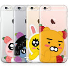 Genuine Kakao Friends Bud Jelly Case iPhone 6/6S Case iPhone 6/6S Plus Case