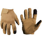 Mil-Tec Combat Touch Gloves Patrol Operative Urban Casual Gauntlet Dark Coyote