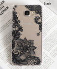 Samsung Case Vintage Flower Phone Cover For Galaxy S3 S4 S5 Back Pouch PAPC152 a