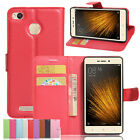 Retro PU Leather Wallet Flip Card Slots Case Cover For Xiaomi Note2 Mix&Redmi 3X