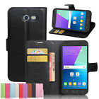 """Vintage PU Leather Wallet Card Slots Case Cover For Samsung Galaxy J3 2017 5.0"""""""