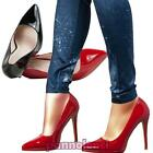 Women's shoes decollete court high heels tip lacquered polished new GD3528-6