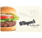 Winger's Roadhouse Gift Card - $25, $50 or $100  Fast Email delivery