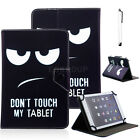 "For 9.7"" 10"" 10.1"" Inch Tablet Butterfly Universal Leather Stand Case Cover +Pen"