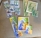 Sets of 1 Note Card, Matching Bookmark, & Magnet - John 3:16, Jer 29:11, Ecc 3:1